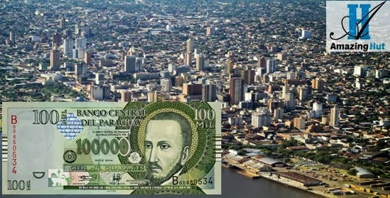 Paraguay Currency Banknote