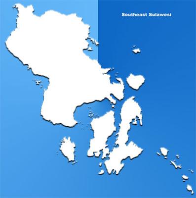 image: Southeast Sulawesi Blank Map