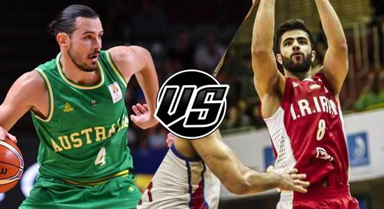 Live Streaming List: Australia vs Iran 2019 FIBA World Cup Qualifiers Asia 5th Window
