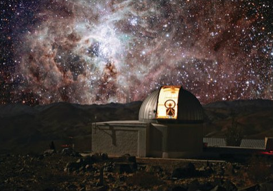 TRAPPIST observatory in Chile