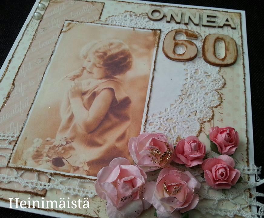Onnitteluruno 60 Vuotiaalle Naiselle
