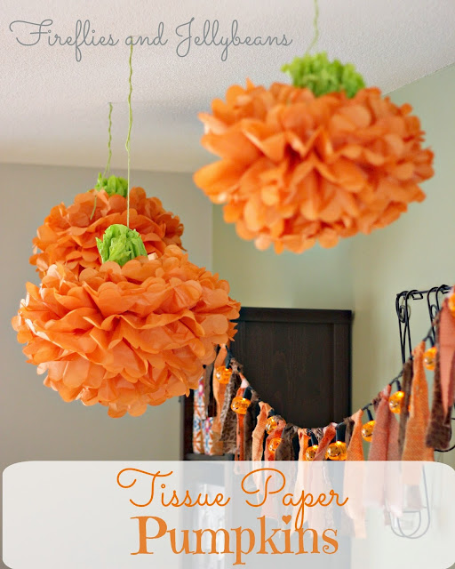 Fireflies And Jellybeans: 10+ Easy Fall Centerpiece Ideas