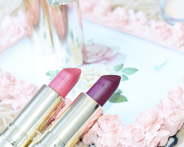 Матовая губная помада Clarins Joli Rouge  Joli Rouge Velvet 744V plum, 705V soft berry