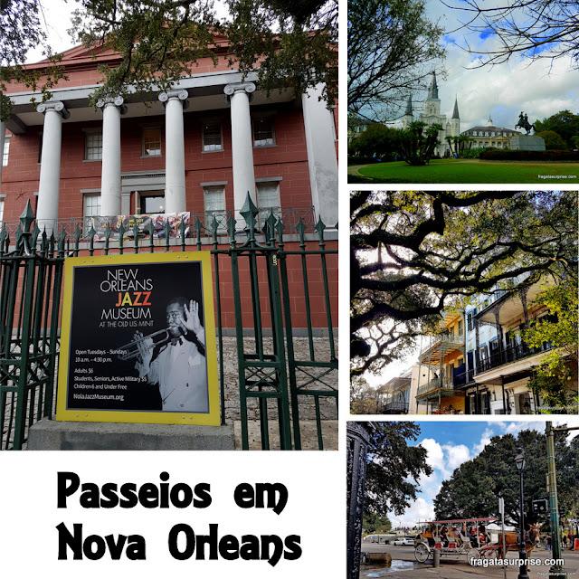 Atrações em Nova Orleans