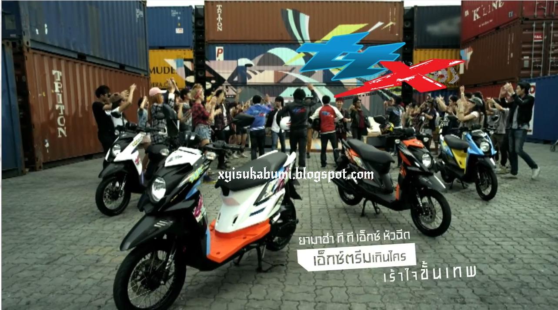X RIDERS INDONESIA Yamaha X Ride 2014 VS Yamaha TTX 2014