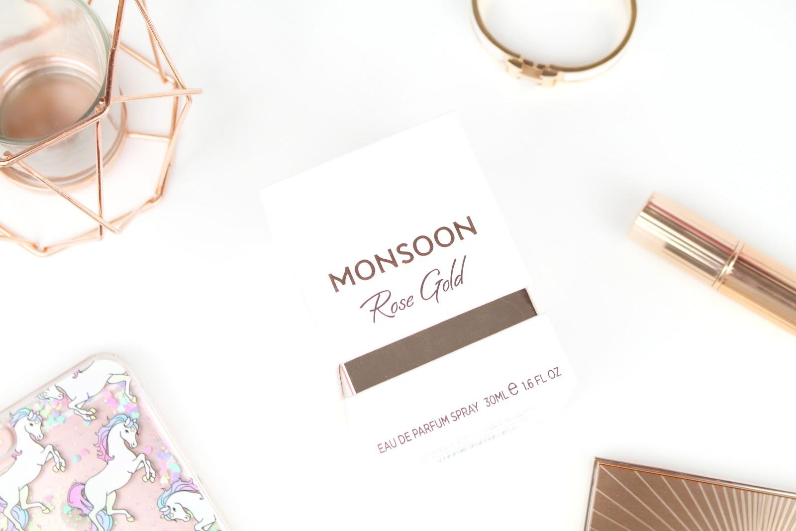 Monsoon rose gold eau de parfum sophia meola a beauty for Monsoon de