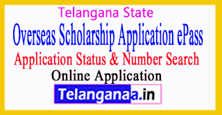 Overseas Scholarship Application Status Telangana ePASS BC/SC/ST/Minority Students Welfare
