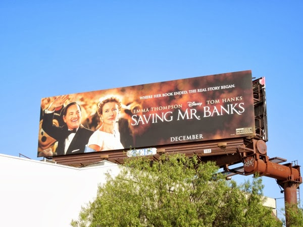 Saving Mr Banks billboard