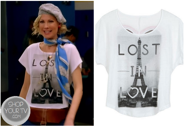 Awkward: Season 3 Episode 1 Valerie's Lost in Love Paris Tee | Shop