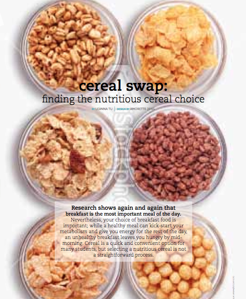 Free To Eat & Be: Healthy Alternatives: Cereals Edition