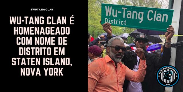 Wu-Tang Clan é homenageado com nome de distrito em Staten Island, Nova York