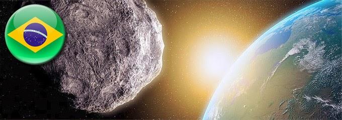 asteroide brasileiro perigoso
