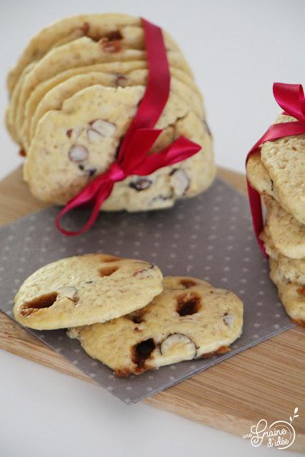 Biscuits Moelleux Caramel Noisettes Sel Recette Facile Rapide Qui se conserve longtemps