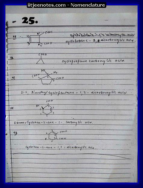Nomenclature Notes9