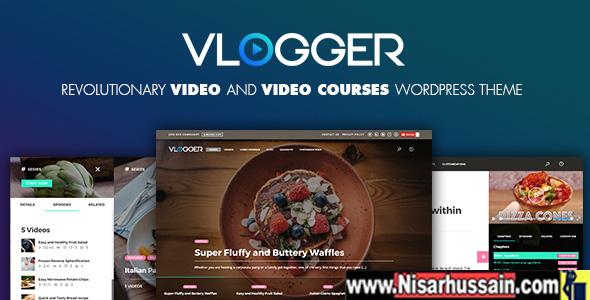 Vlogger v1.4 – Professional Video & Tutorials WordPress