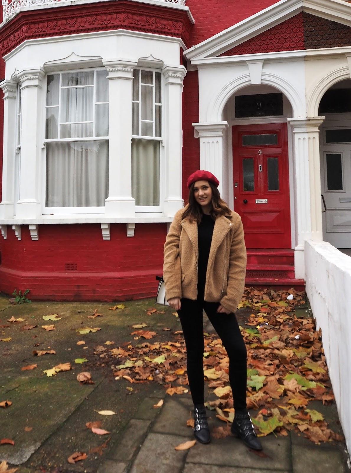 The Teddy Bear Coat Missguided - LAUREN ROSE STYLE - Autumn Style Fashion Blogger - London Street Style