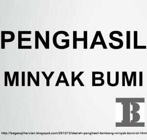 Daerah Penghasil Tambang Minyak Bumi di Indonesia