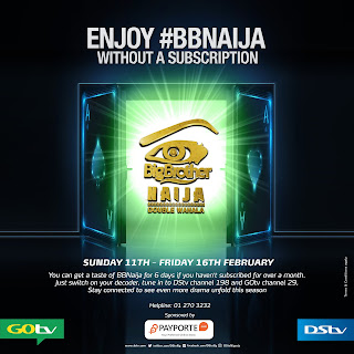Watch Big brother Naija on GoTV, DStv , subscription