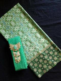 Jual Batik Prada 1 Set dengan Embos