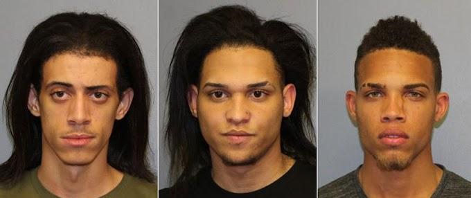 Tres dominicanos acusados en Nueva Jersey de intento de asesinato por apuñalamiento de un adolescente