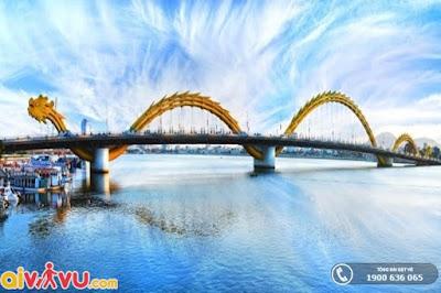 Khám phá cảnh đẹp ấn tượng của cây cầu Rồng
