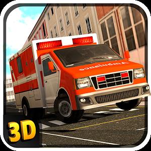 تحميل لعبة emergency ambulance simulator مهكرة