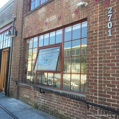 exterior of Standard Fare bakery in Berkeley California