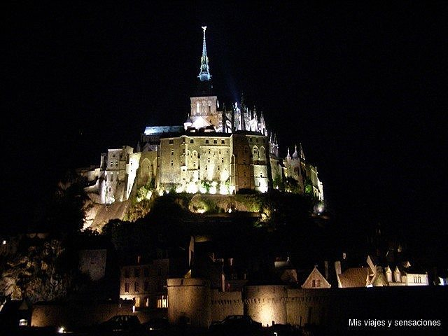 Abadía Monte Saint-Michel, Normandia (Francia)