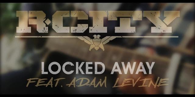 Locked Away Guitar CHORDS R. City ft. Adam Levine ...