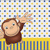Curious George: Free Printable Candy Bar Labels.
