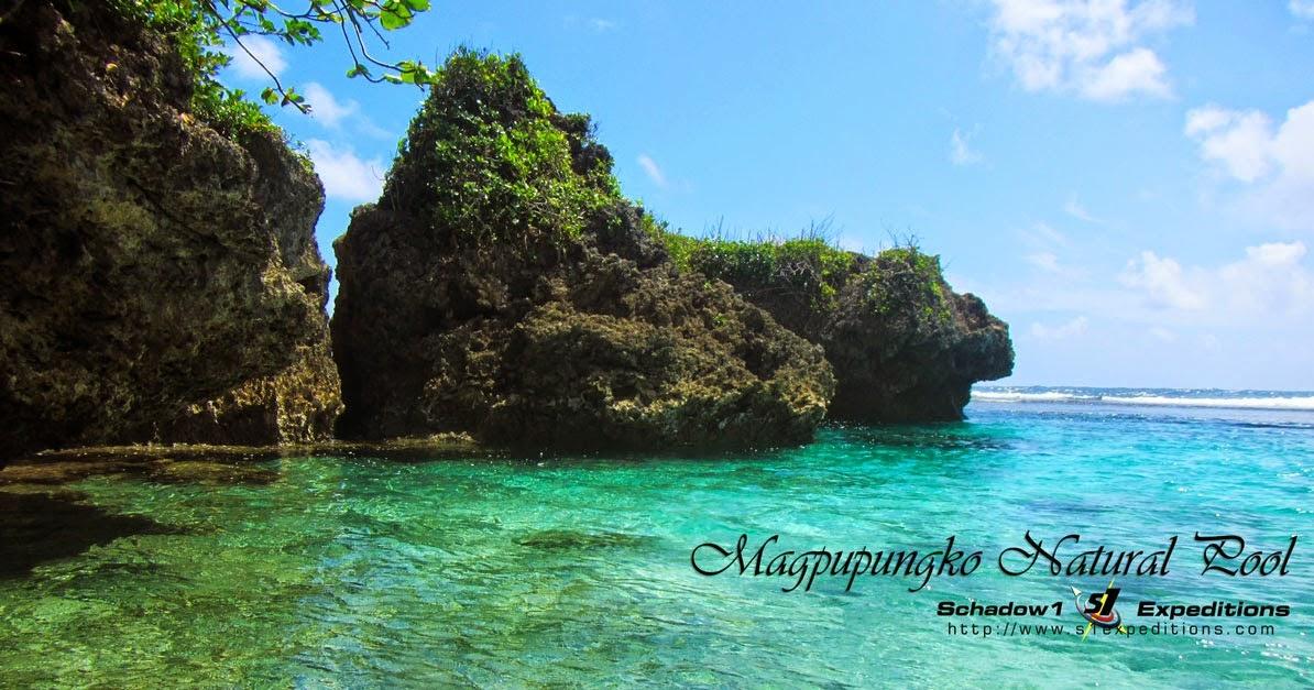 Magpupungko Beach and Natural Pool of Siargao  Schadow1