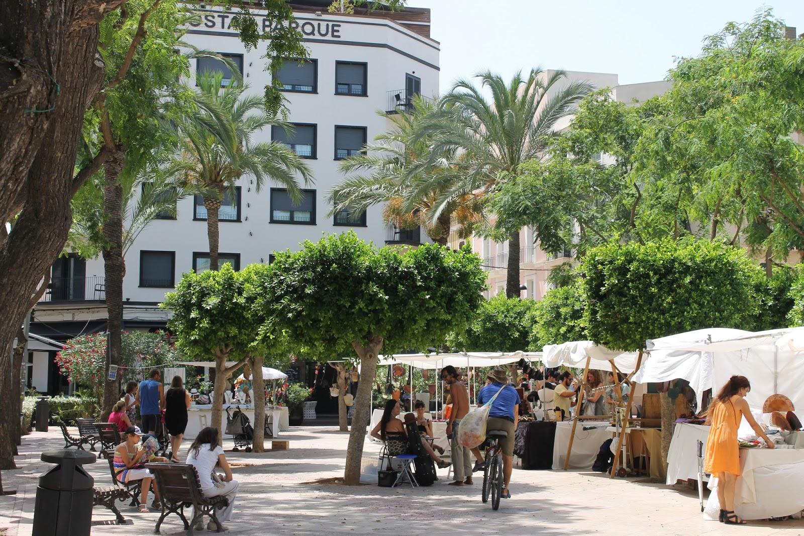 Plaza del Parque Ibiza