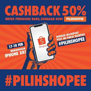 PilihShophie: Repost Foto Instagram Menangkan iPhone XR