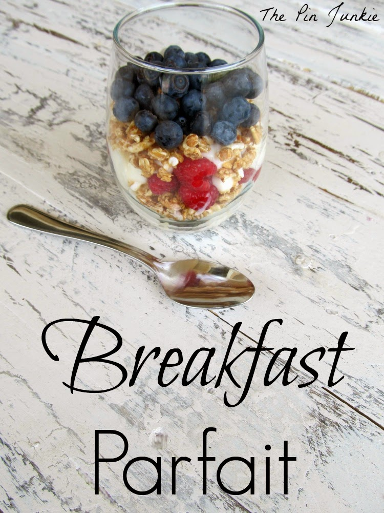 breakfast-parfait recipe