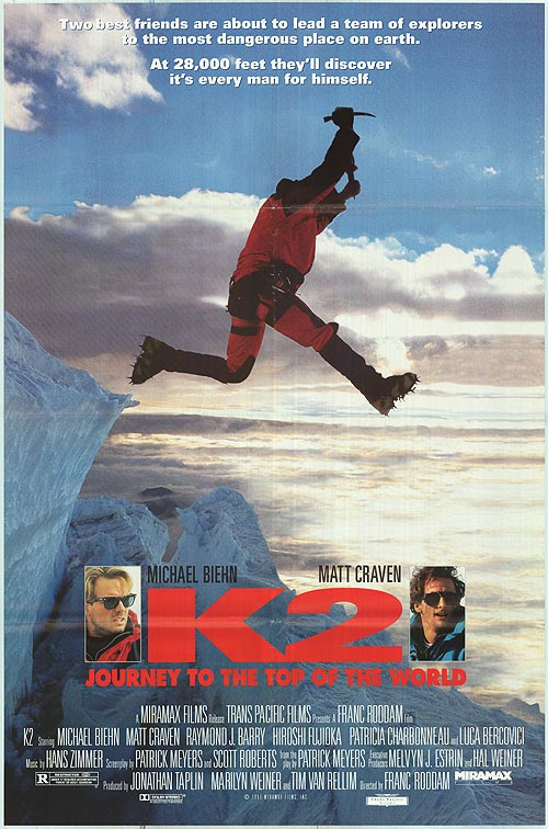 K2 recenzja filmu michael biehn