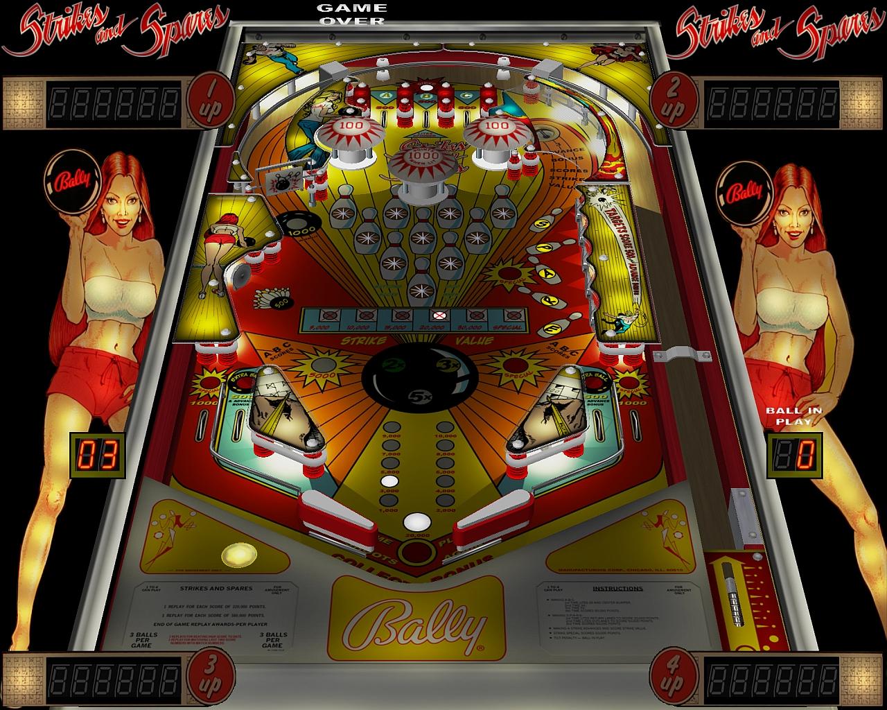 Computer Pinball: Visual Pinball Screen Shots: Classics 2