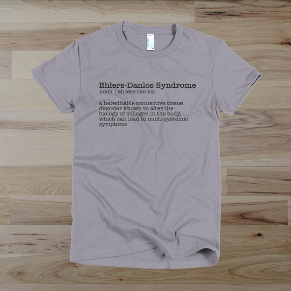 Ehlers Danlos Syndrome EDS Awareness Shirt