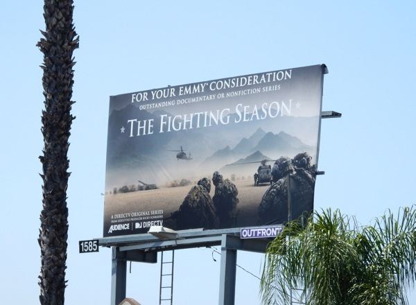 Fighting Season Emmy 2015 billboard