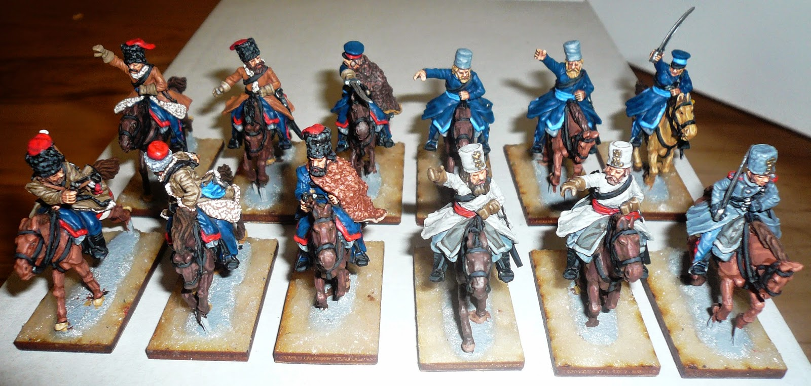 Perry miniatures - Cossacks!