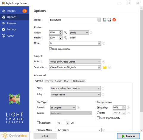 Light Image Resizer Full Windows 10