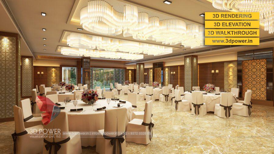 3d interior designs interior designer top 3d interior for Marriage hall interior designs