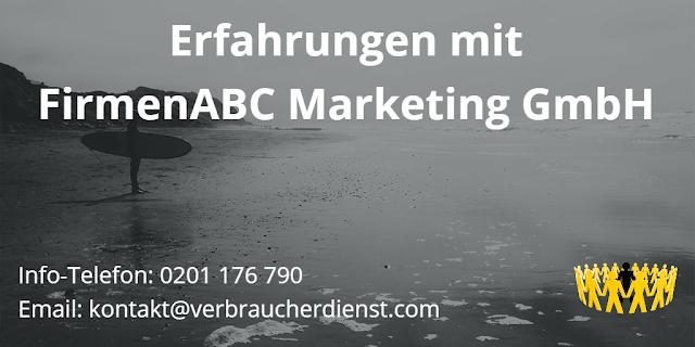 Bild Erfahrungen FirmenABC Marketing GmbH