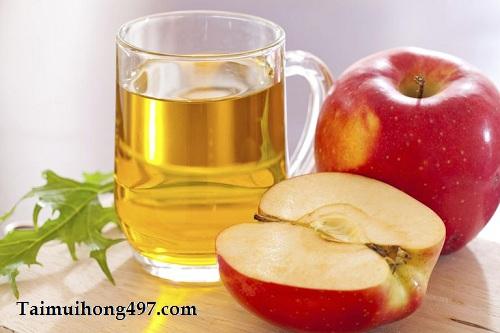 Mẹo chữa viêm mũi chỉ bằng dấm táo