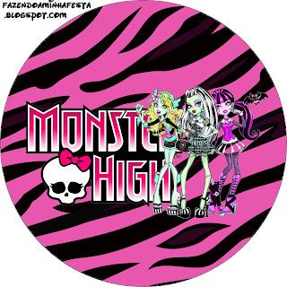 Monster High Free Printable Labels Oh My Fiesta In