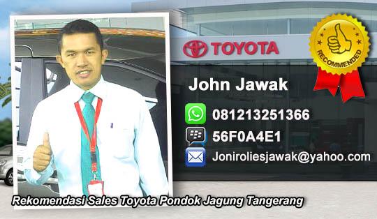 Rekomendasi Sales Toyota Pondok Jagung, Tangerang