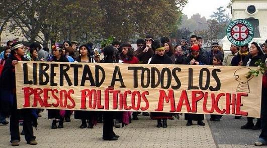 Presos políticos #mapuches, casi un mes en huelga de hambre