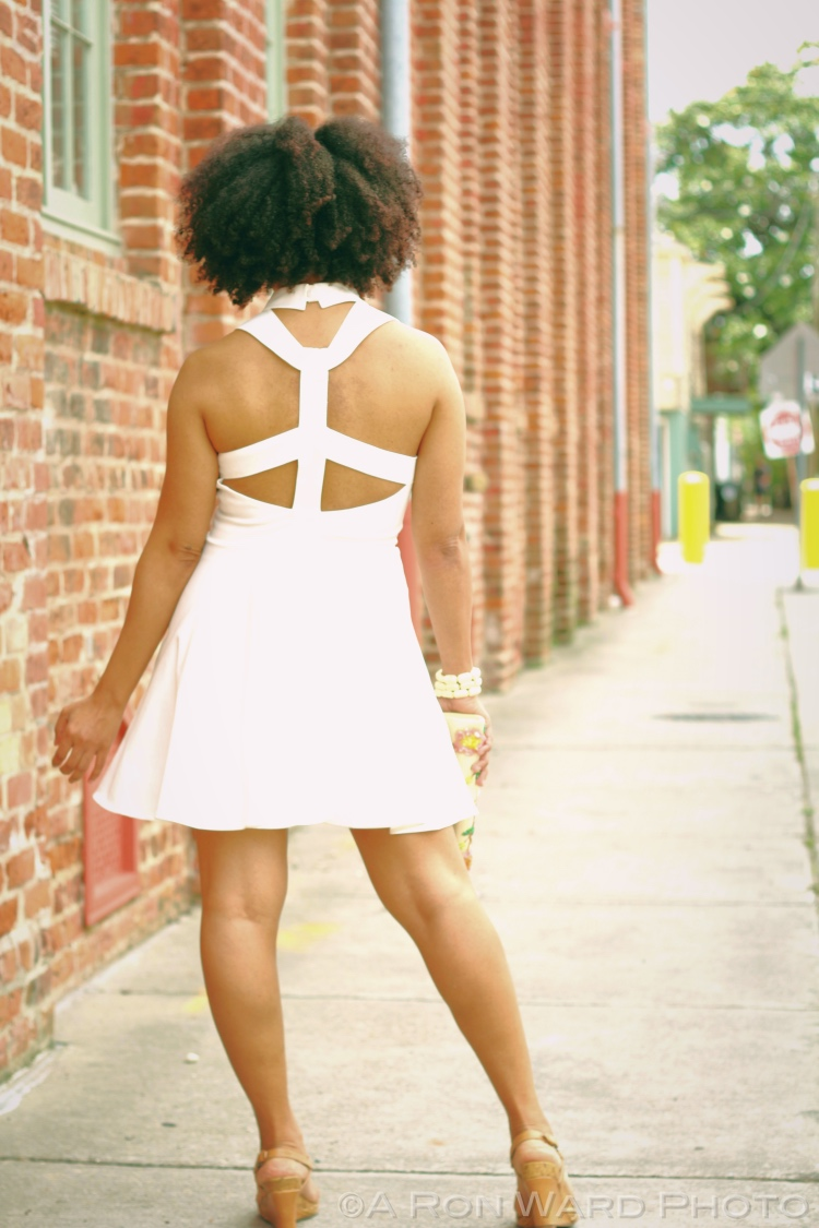 7th and Broadway Skater Dress from TOBI