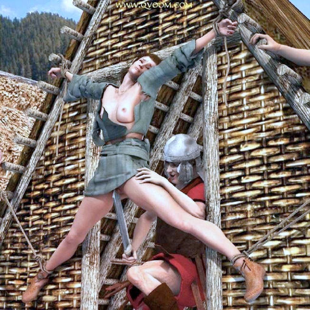 викинги ебут рабынь