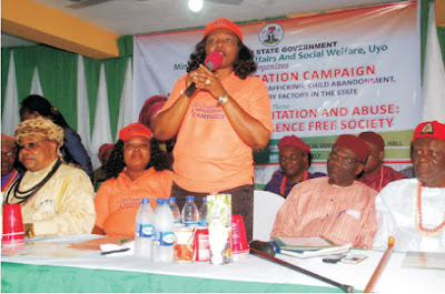 AKSG launches campaign against Child Abuse, abandonment, child Labour and baby factory