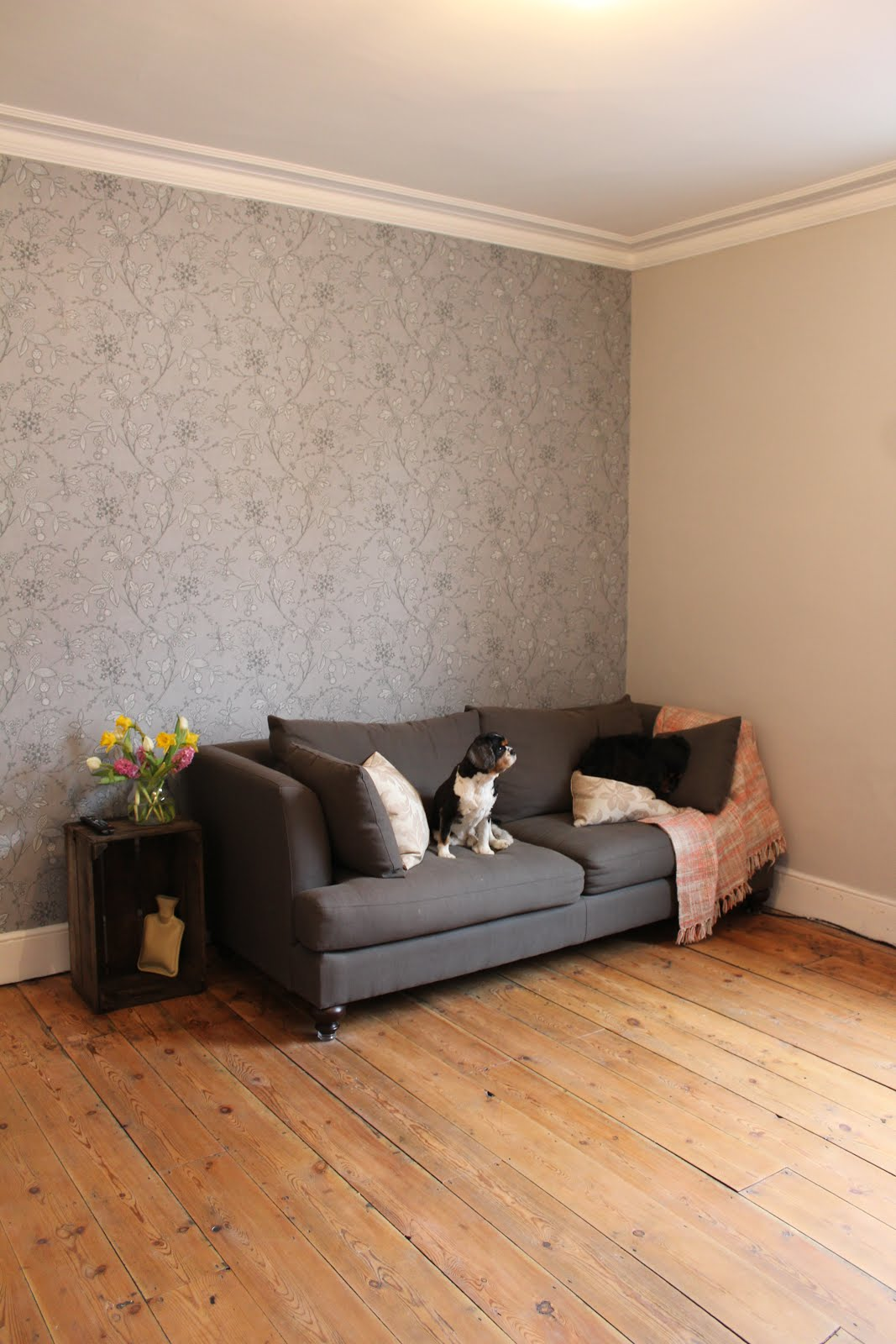 Little Greene Wallpaper in Living Room